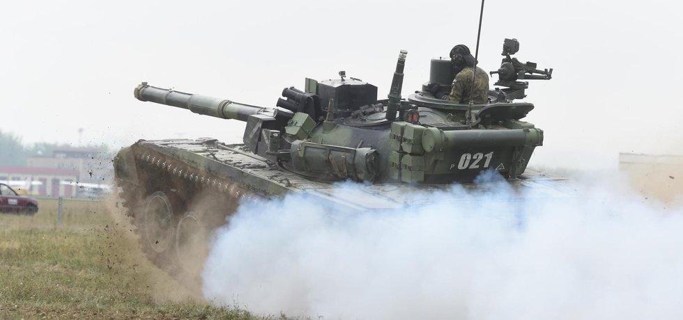Dny NATO 2015: tank T-72 české armády