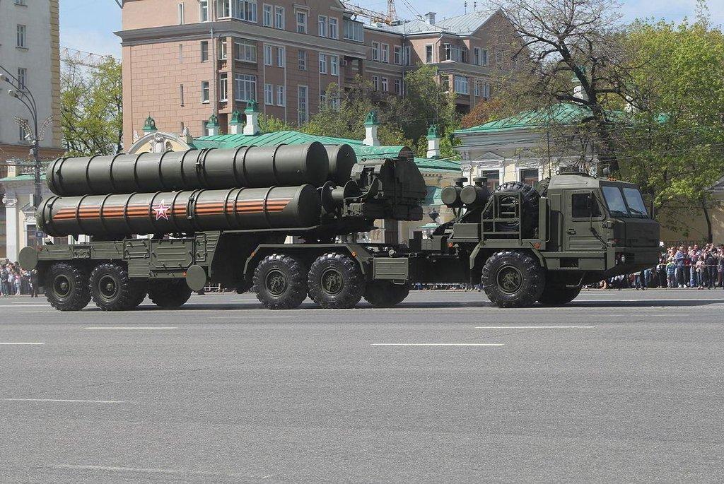 Protiraketový systém S-400, ilustrační foto