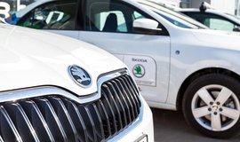 Prodejce vozů Škoda, ilustrační foto