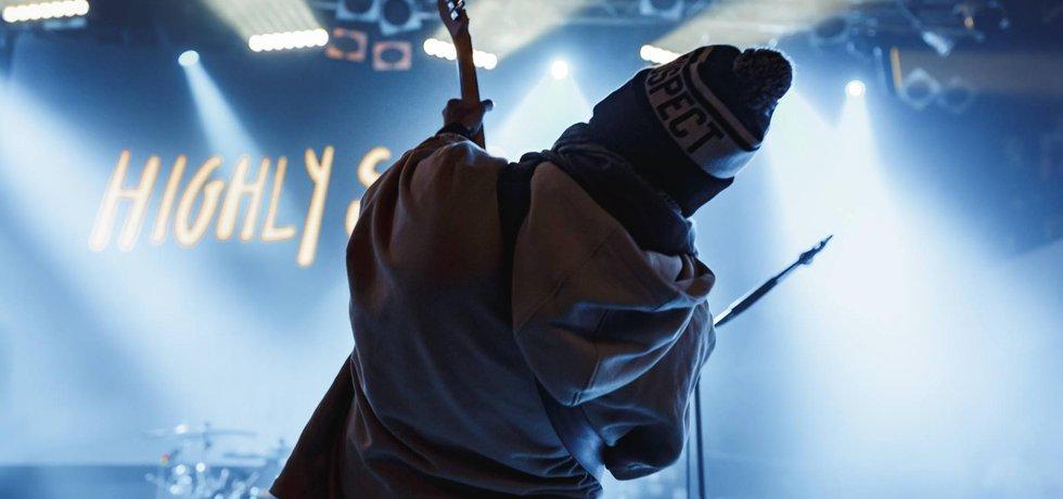 Highly Suspect v pražském Lucerna Music Baru