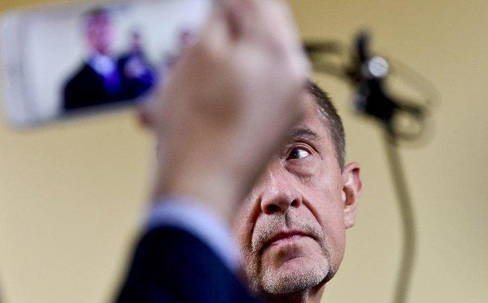 Český premiér Andrej Babiš během návštěvy USA