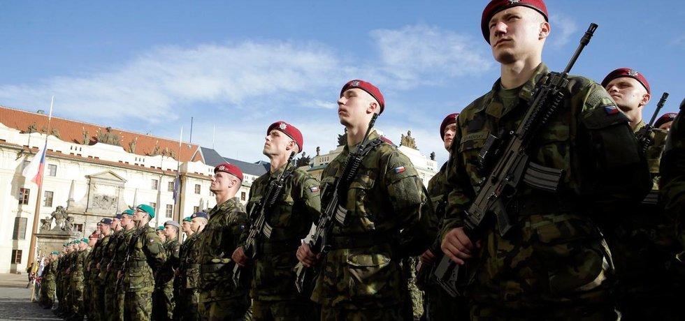 Slavnostní přísaha vojáků Armády ČR