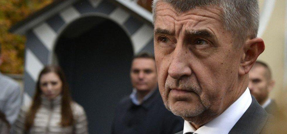 Andrej Babiš po jednání v Lánech