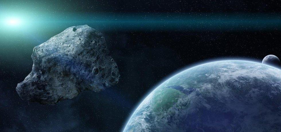 Asteroid, ilustrační foto