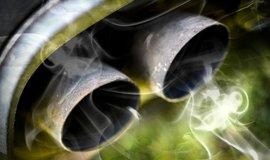 Výfukové plyny, ilustrační foto