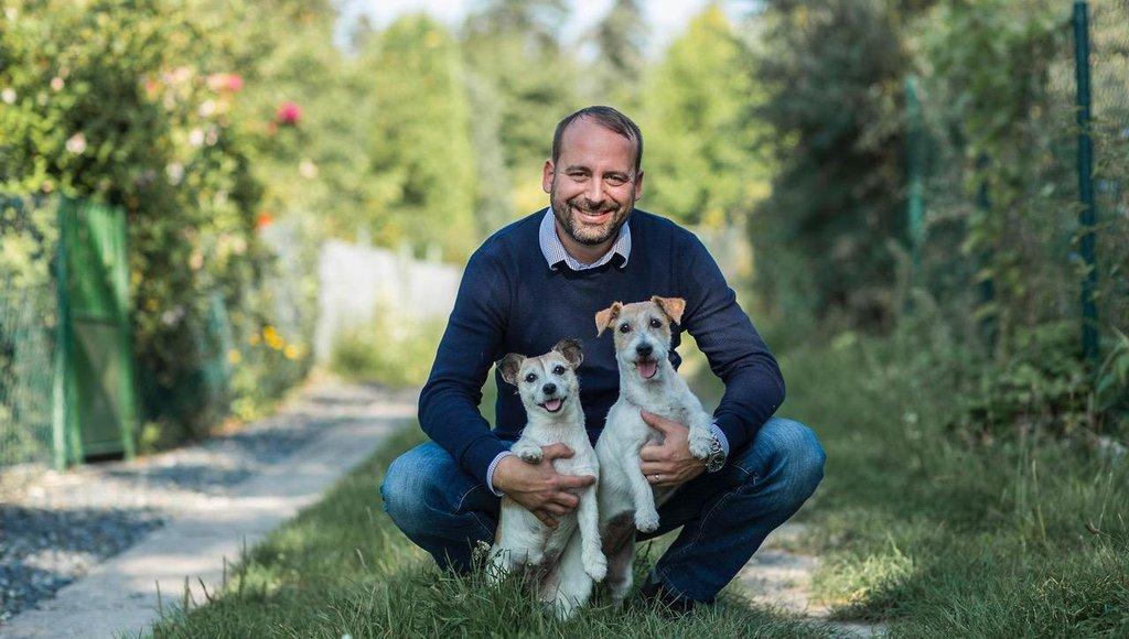 Zakladatel sociální sítě pro psy Fiddo David Navrátil