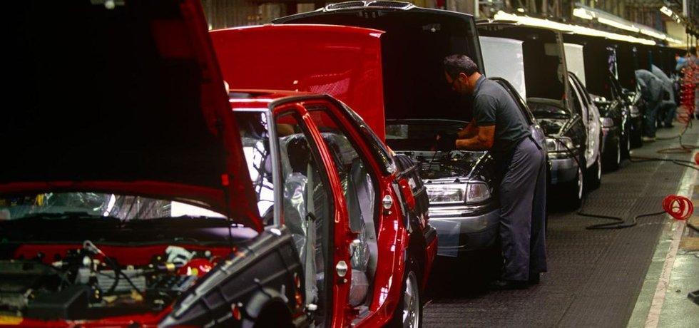 Továrna na vozy BMW v britském Cowley