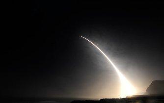 Zkušební odpálení střely Minuteman III