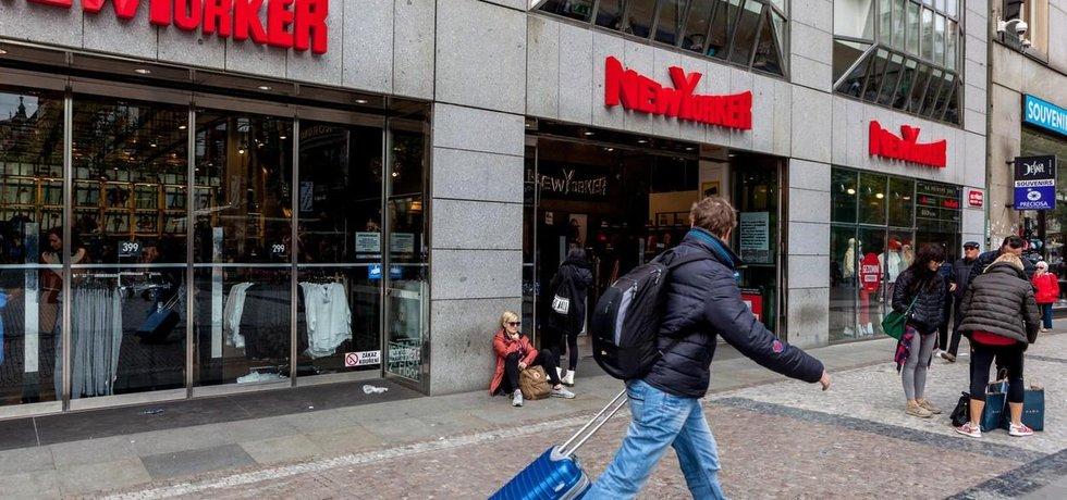 Prodejna News Yorkeru v Praze