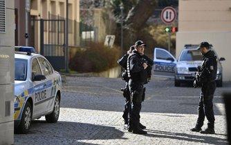 Zásah policistů z NCOZ, ilustrační foto