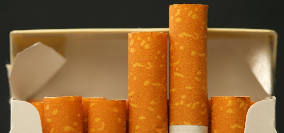 Cigarety – ilustrační foto
