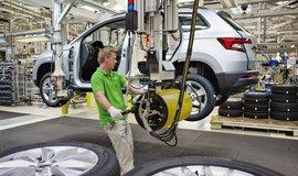 Výroba ve Škoda Auto - ilustrační foto