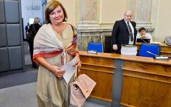 Ministryně financí Alena Schillerová (ANO)
