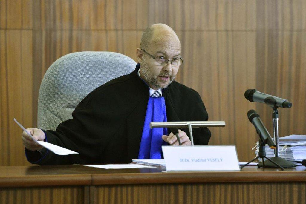 Předseda senátu Nejvyššího soudu Vladimír Veselý.