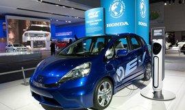 Elektromobil Honda Fit EV, ilustrační foto