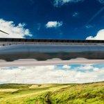 Přepravní kapsle sviští tunelem hyperloop