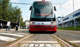 Tramvaj T15 Škody Transportation