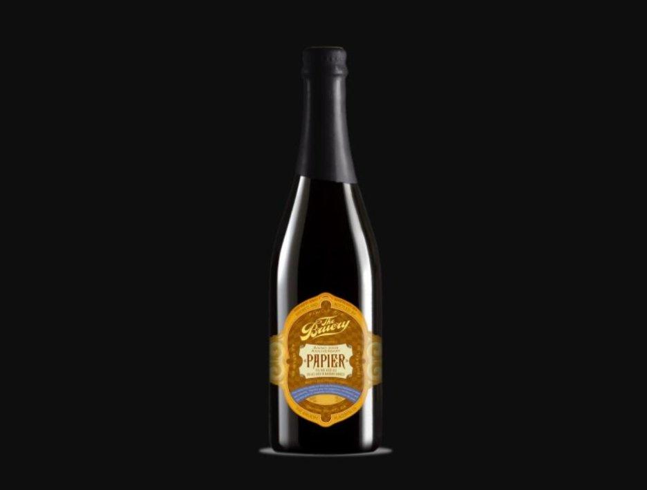 Pivo Papier uvařené ve stylu anglického Old Ale bylo uvařeno k prvnímu výročí založení kalifornského pivovaru The Bruery v roce 2009.