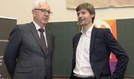 Bývalí prezidentští kandidáti Jiří Drahoš a Marek Hilšer