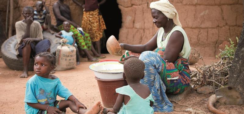 *Afrika, chudoba