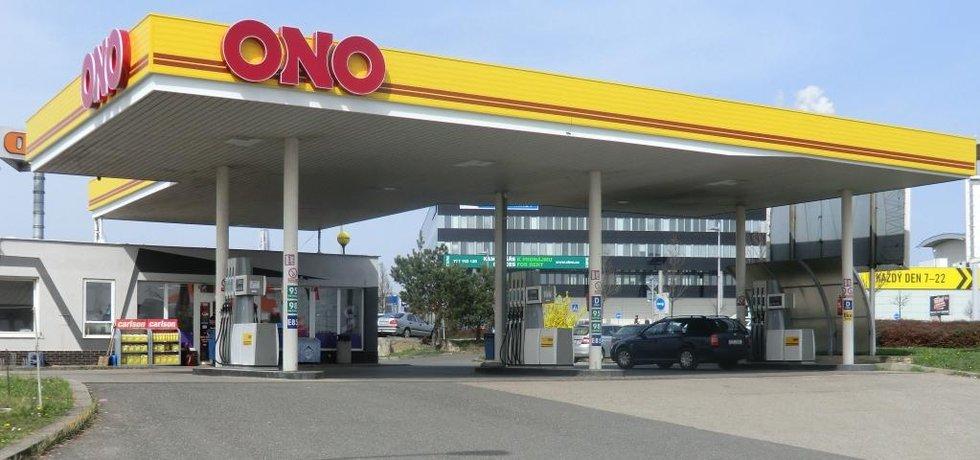 Čerpací stanice Tank ONO v pražských Štěrboholech