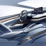 Interiér elektrického konceptu Vision iV
