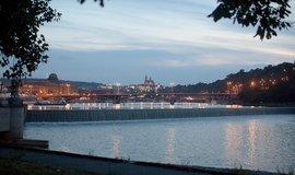 Pohled na Pražský hrad z méně tradičního úhlu.
