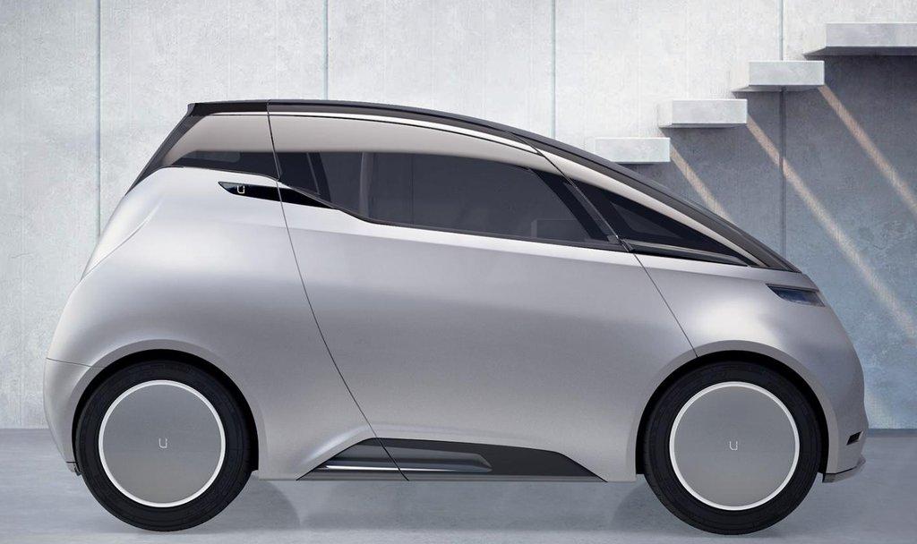 Elektromobil do města Unity. Základní model počítá s dvěma pasažéry.