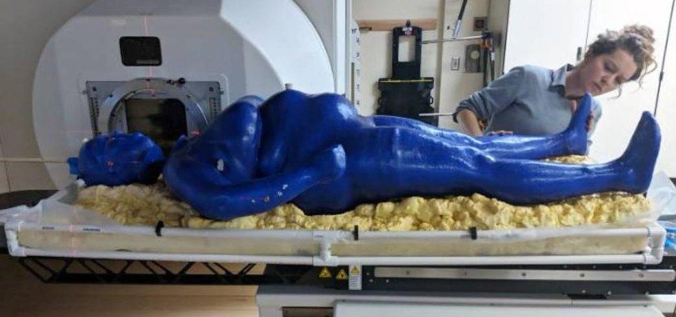 Marie, model ženy vytištěné ve 3D tiskárně. Ilustrační foto.