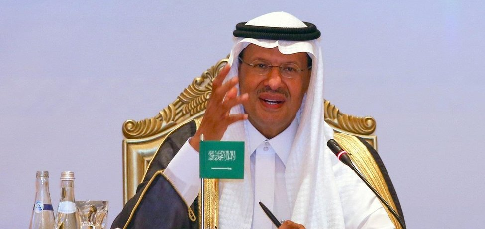 Ministr energetiky Saúdské Arábie princ Abdalazíz bin Salmán.