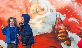 Kampaň firmy Coca-Cola v Anglii 2017.