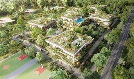 Vizualizace projektu Green Resort v Gruzii