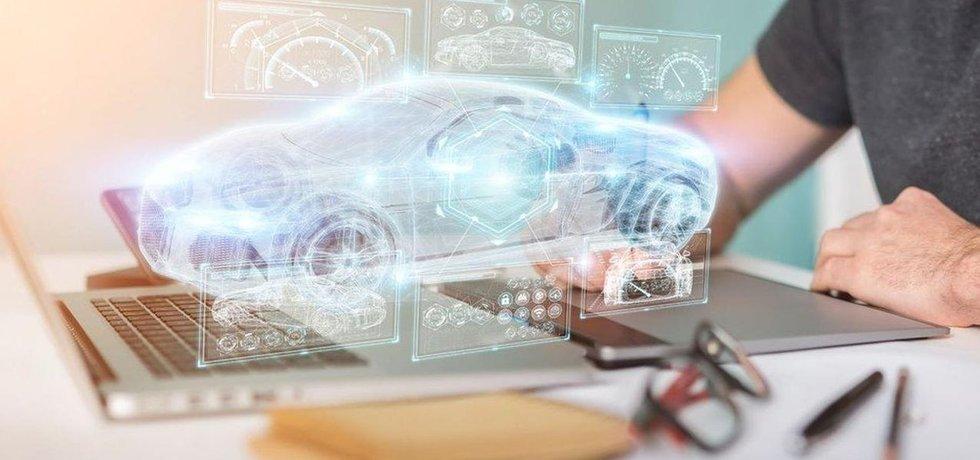 Vývoj automobilu, ilustrační foto