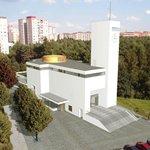 Návrh kostela na pražském Barrandově
