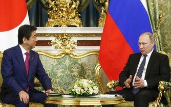 Shinzo Abe s Vladimirem Putinem