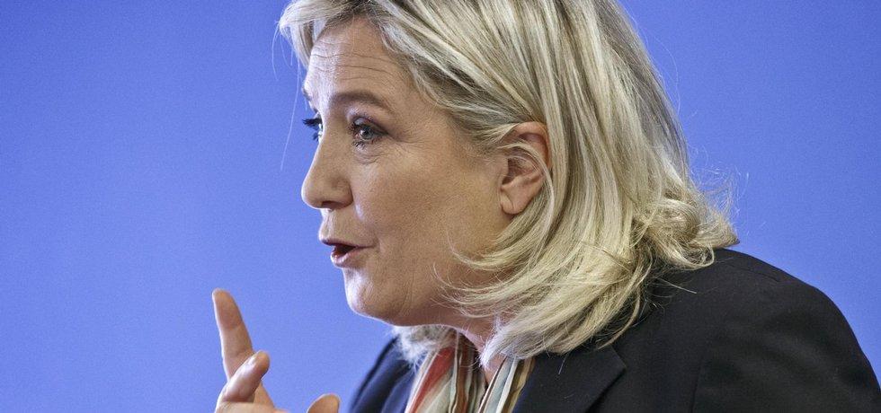 Marine Le Penová, šéfka francouzské Národní fronty
