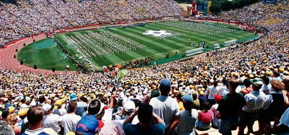 Šampionát z roku 1994, konaný v USA, dosud drží absolutní rekord v návštěvnosti historie mistrovství světa