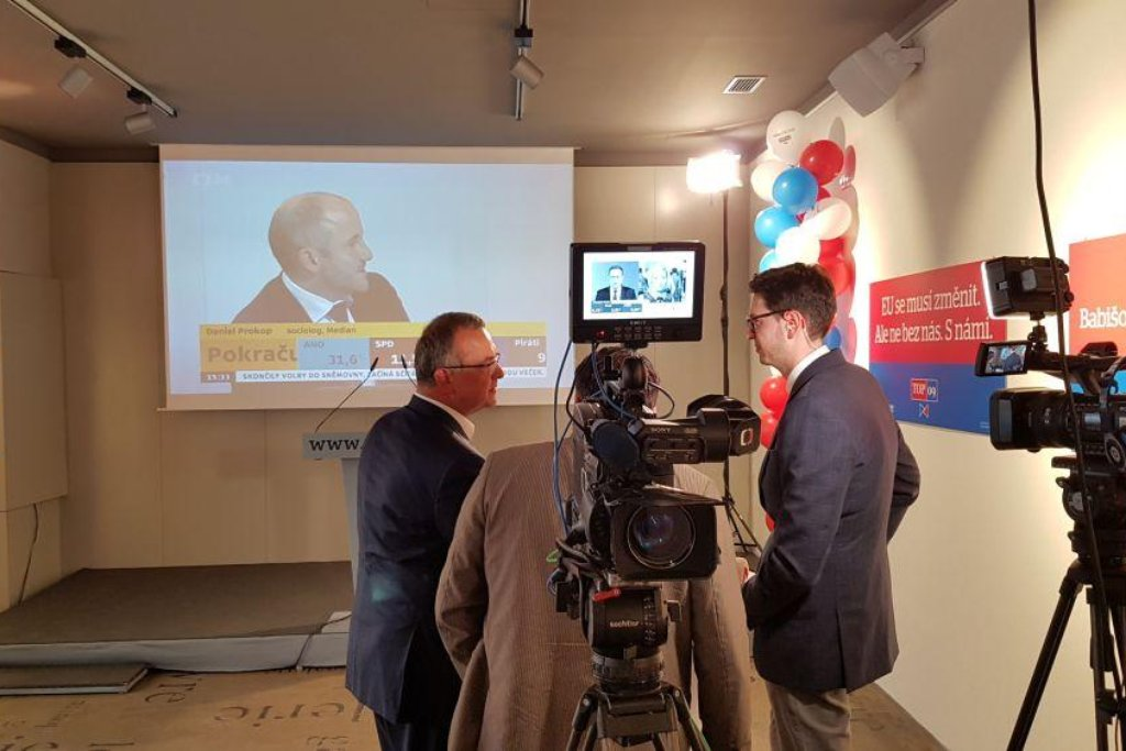 ANO, SPD a Piráti slaví úspěch, ČSSD propadla