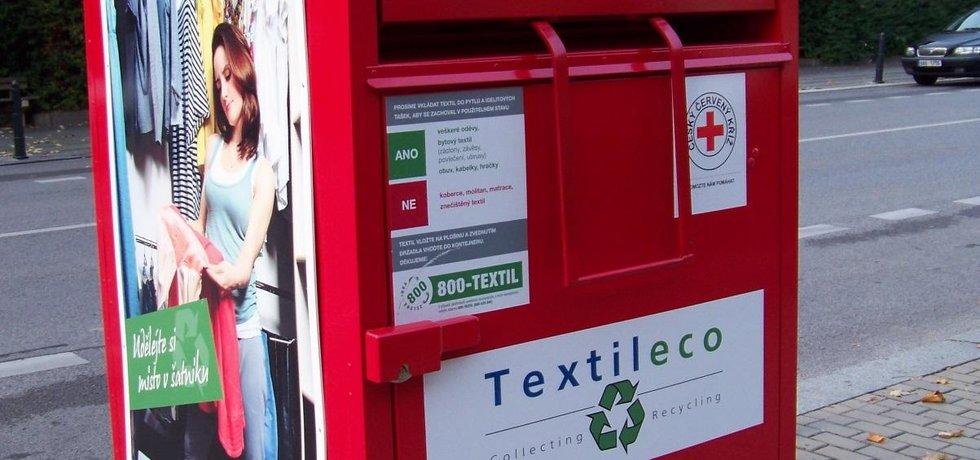 Recyklace textilu. Ilustrační foto.
