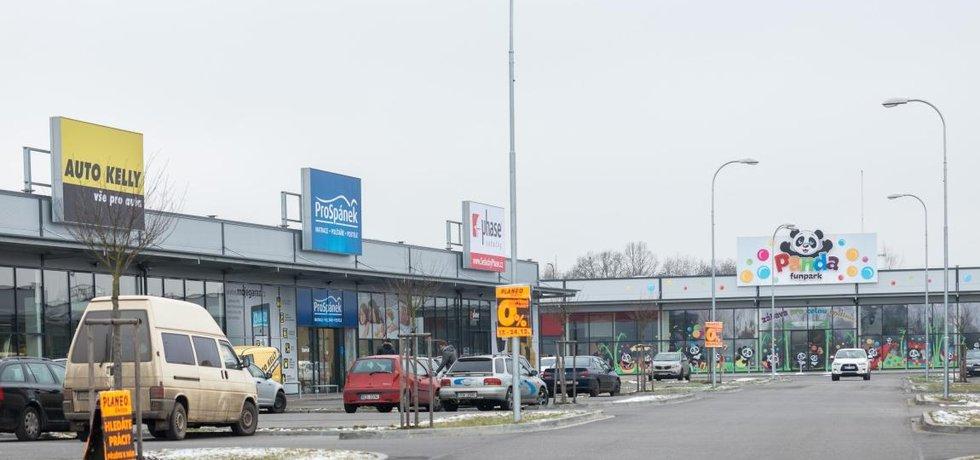 Retail Park České Budějovice patřící skupině DRFG, ilustrační foto