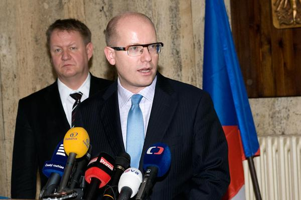 Bohuslav Sobotka, Svatopluk Němeček,