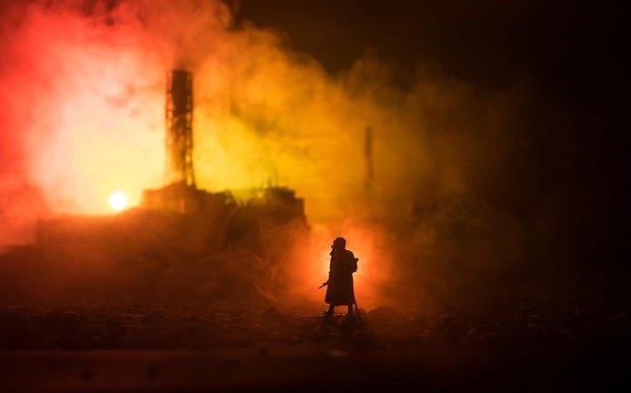 Havárie jaderné elektrárny, ilustrační foto