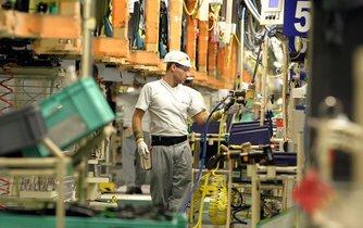Výroba automobilů v kolínské TCPA (ilustrační foto)