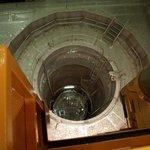Pohled do otevřeného reaktoru.