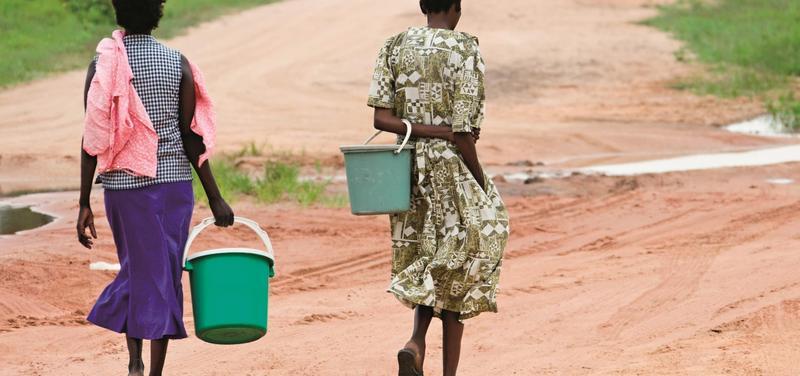 *chudoba, Afrika