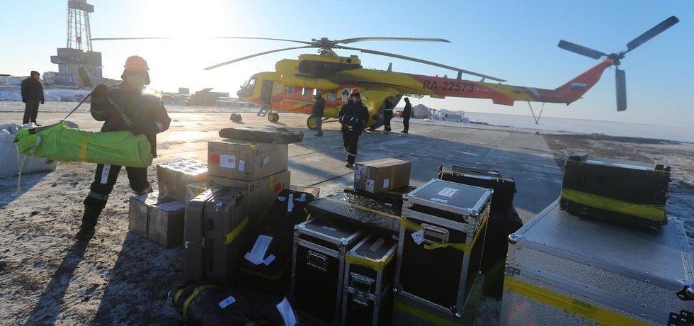 Rosněft zahájila těžbu v Moři Laptěvů