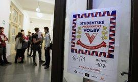 Studentské volby se konaly už osmkrát, ilustrační foto