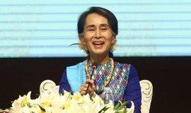 Barmský vůdkyně Do Aun Schan Su Ťij