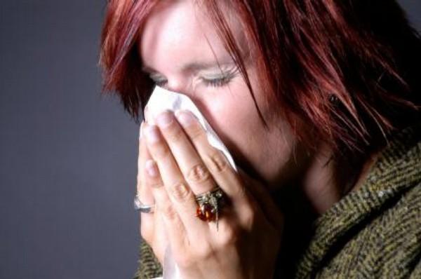 rýma, alergie, chřipka