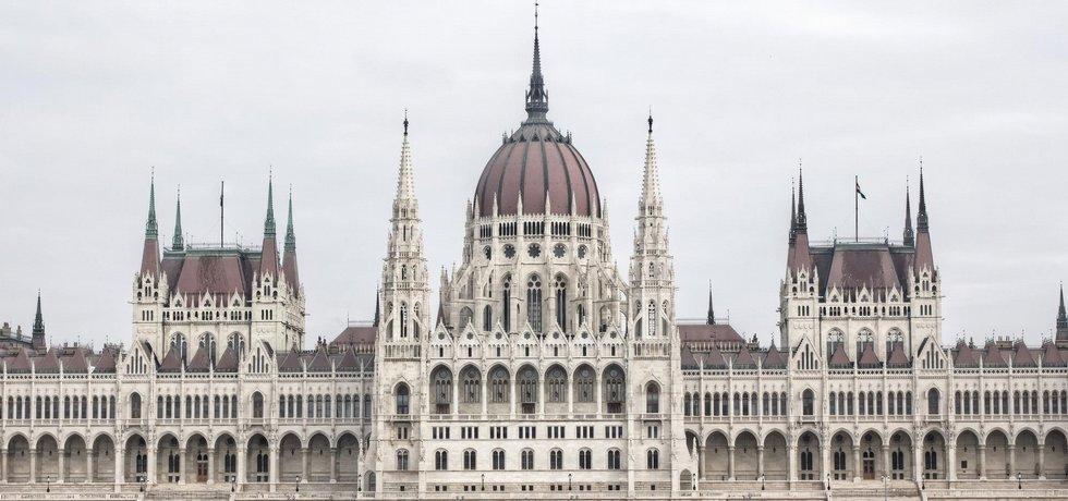 Parlament v Budapešti